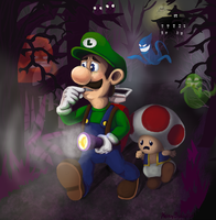 Luigi's Mansion by Farlo