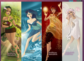 The Four Elements by aqualuvsrobin2