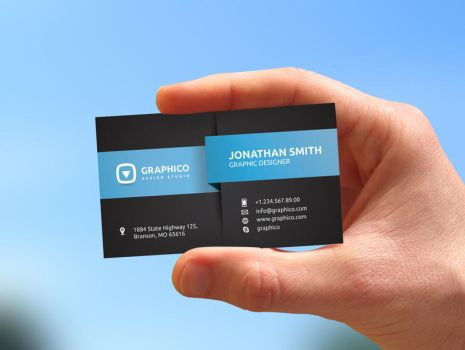Modern Corporate Business Card by nazdrag