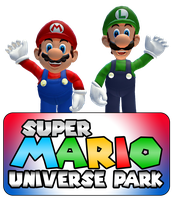 Mario Universe park by ZeFrenchM