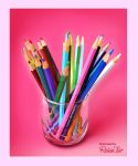 color pencils by Rehantair