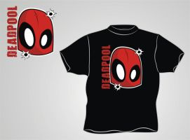 Deadpool T-Shirt Design by HeadsUpStudios