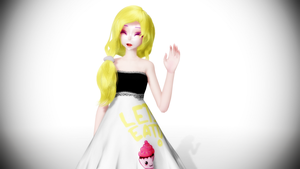 [MMD] Chica (Humanized) ver. 1.1 +DL by clacla2013