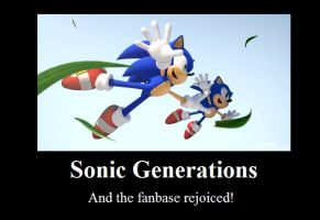 Sonic Generations Motivational by Naxal710