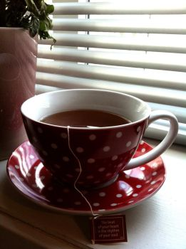 Tea is the Rhythm of Your Soul by Jasnette