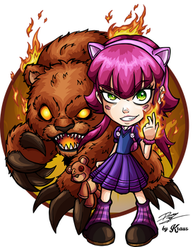 Annie and Tibbers by Kraus-Illustration