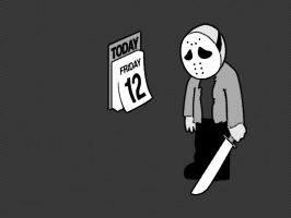 Friday the 12th by RICHARDFORTE