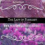 Lady of February's Design Motifs by AngelaSasser