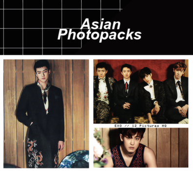 Photopack 1469 // EXO. by xAsianPhotopacks