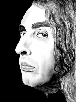 A drawing I did of Tiny Tim by MissPyramidHead4
