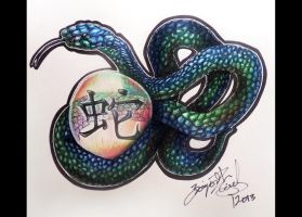 Year of the Snake 2013 by cherry12
