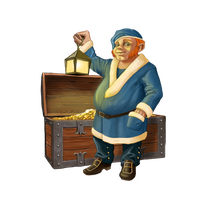 Dwarf-Treasurer by Werlioka