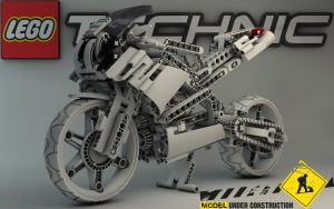 LEGO TECHNIC Street Bike 8420 by Dracu-Teufel666