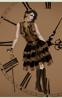 My steampunk chick by tlclifford