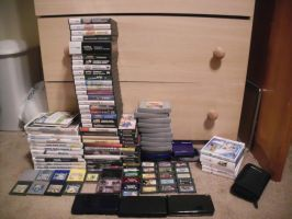 Video Game Collection Updated by ObitoUchiha50