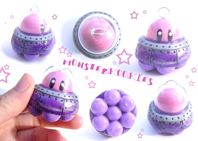 UFO Kirby - NEW AND IMPROVED by monsterkookies