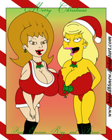 Enorma and Titania Christmas by broad86new