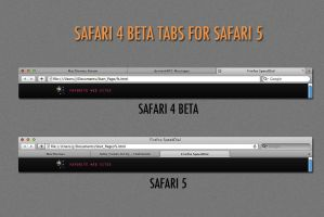 Safari 4 Beta Tabs 4 Safari 5 by Yoshitoshii