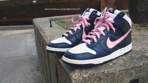Nike Dunk High SB 'Arizumi' by BBoyKai91