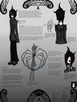 Malady Ref Sheet by Vegeluxia