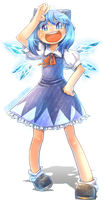 Cirno's Here! by Porforever