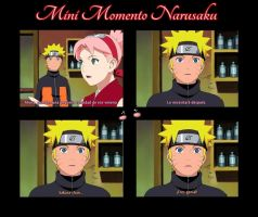 Mini Momento Narusaku by ravenuchihaforever