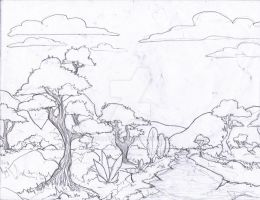 Sketch out a landscape by Israel42
