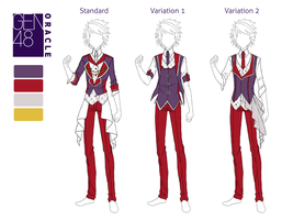GEN48:: Male Uniform Reference by burnsgraves