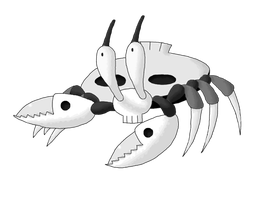 Ghost Crab Contest Entry by Smiley-Fakemon