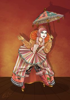 Commission- Steampunk Clown by Terrizae