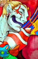 Kefka from Dissidia by miphi017