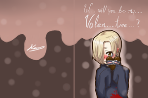 A Very Bloody Valentine (front and back) by okamaka