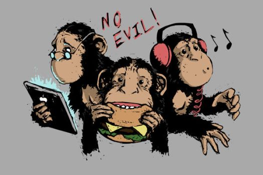 No Evil by JHUBS
