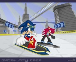 Metal city race by Dj-Reverberance