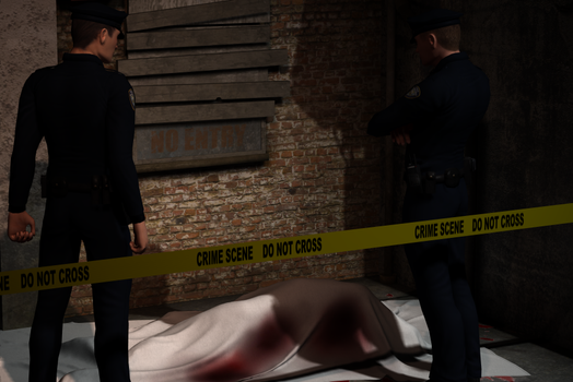 Crime scene by JohnParaiso