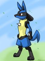 Lucario - 2 by Shioulion