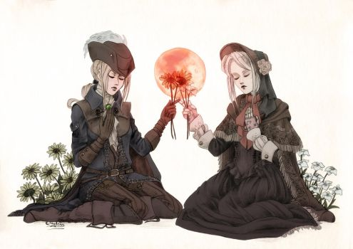 Lady Maria and Plain Doll by Wingless-sselgniW