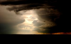 Storm on Southwest Plains I by elektronika7
