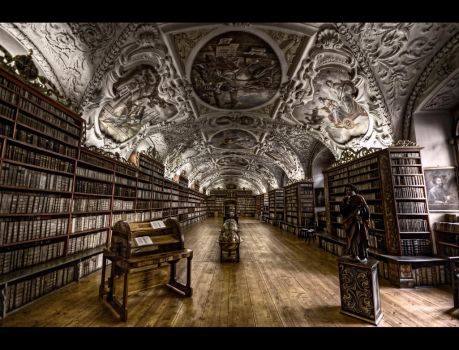 The Theological Hall by Beezqp