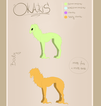 Okaris Body/Fur - Read Description by Wolf-SiSi