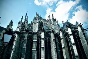 Cathedral in Amiens by ShibbyM