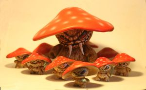 shroom army by JasonJacenko