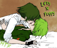 Lifty x Flippy by Nile-kun