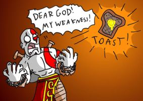 Kratos' greatest fear by BrokenTeapot