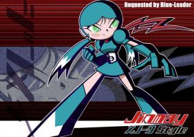 Jinmay_XJ-9style_requested by zackmolis