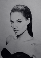 Angelina Jolie by KatherinaIlic