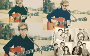 Cameron Mitchell Wallpaper by carolmunhoz
