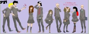 Group of High Schoolers (uploaded) by jarrito89