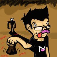 Markiplier  - When Mark rang SCP-513's Cow Bell by Skettche