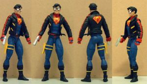 Spiderboy custom action figure by Mace2006